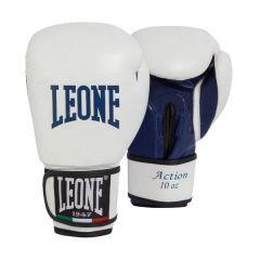 Боксерские перчатки Leone Action white
