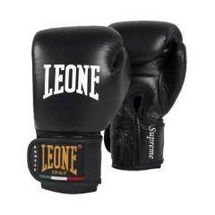 Боксерские перчатки Leone Supreme black
