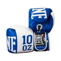 Боксерские перчатки Leone Elite blue