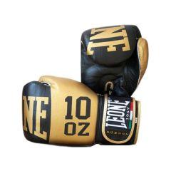 Боксерские перчатки Leone Elite black