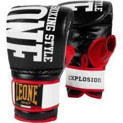 Снарядные перчатки Leone Explosion black - red