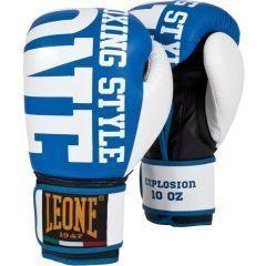 Боксерские перчатки Leone Explosion black - white
