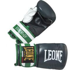 Снарядные перчатки Leone Energy black - green