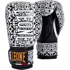 Боксерские перчатки Leone Maori black - white