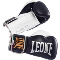 Боксерские перчатки Leone Prestige 2.0 black - white