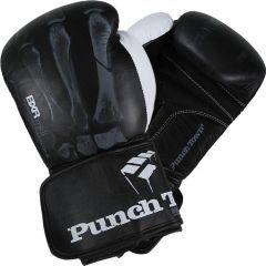 Боксерские перчатки PunchTown BXR mk II black