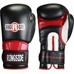 Боксерские перчатки Ringside Safety Sparring black - red
