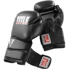 Боксерские перчатки Title Classic Revolution black