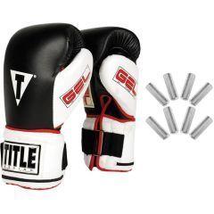 Боксерские перчатки Title Gel Power Weighted Super