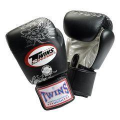 Боксерские перчатки Twins Special Dragon black