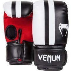 Снарядные перчатки Venum Elite black - red