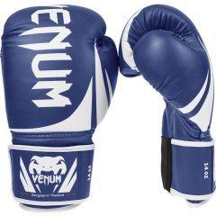 Боксерские перчатки Venum Challenger 2.0 SE blue