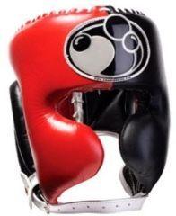Боксерский шлем Grant black - red