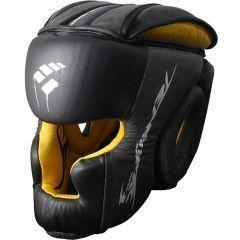 Боксерский шлем PunchTown Tenebrae black