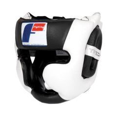 Боксерский шлем Fighting Sports Tri-Tech black - white
