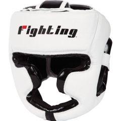 Боксерский шлем Fighting Sports S2 Gel white