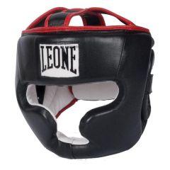 Боксерский шлем Leone Professional black