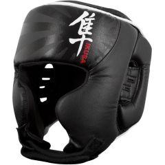 Боксерский шлем Hayabusa Ikusa black