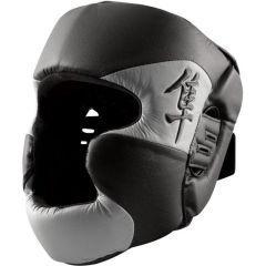 Боксерский шлем Hayabusa Tokushu black - gray