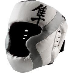 Боксерский шлем Hayabusa Tokushu white - gray