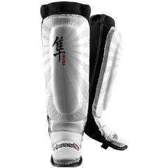 Защита голени и стопы Hayabusa Ikusa white