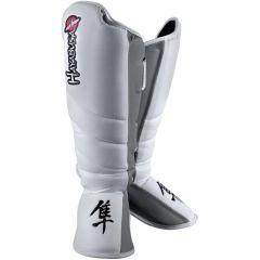 Защита голени и стопы Hayabusa Striking white