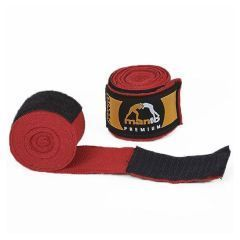 Боксерские бинты Manto Logo Pro red 4.5м