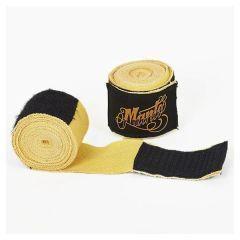 Боксерские бинты Manto Authentic Pro yellow 4.5м