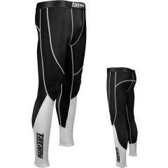 Компрессионные штаны Tatami Core black - white