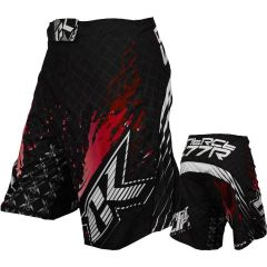 ММА шорты Contract Killer Stained 2.0 black - red