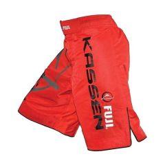 ММА шорты Fuji Kassen red
