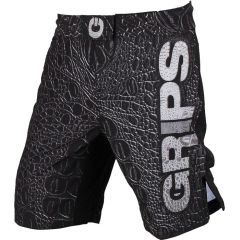ММА шорты Grips Athletics Black Crocodile