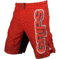 ММА шорты Grips Athletics Red Dragon