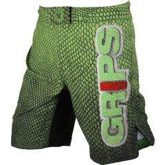 ММА шорты Grips Athletics Green Snake