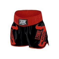 Тайские шорты Leone black - red