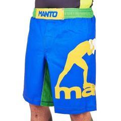 ММА шорты Manto Pro Logo blue