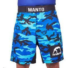 ММА шорты Manto CAMO blue