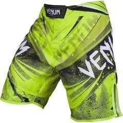 ММА шорты Venum Galactic green