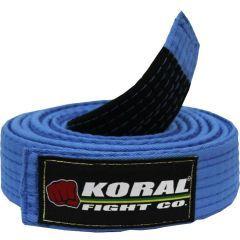 Пояс для кимоно БЖЖ Koral blue