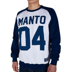 Свитшот Manto 04 white - navy