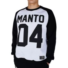 Свитшот Manto 04 white - black