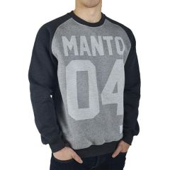 Свитшот Manto 04 gray - black