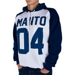 Худи Manto 04 white - navy
