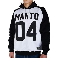 Худи Manto 04 white - black