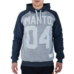 Худи Manto 04 gray - black