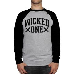 Свитшот Wicked One Blocka gray - black