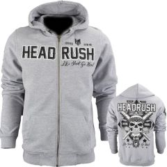 Толстовка Headrush Skullbats Vector gray
