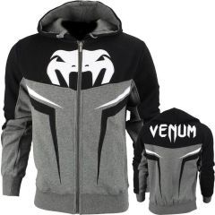 Толстовка Venum Shockwave 3.0 gray - black