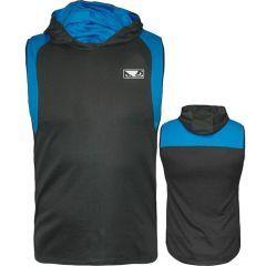 Худи без рукавов Bad Boy Fitness black - blue