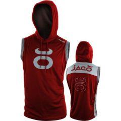 Худи без рукавов Jaco red